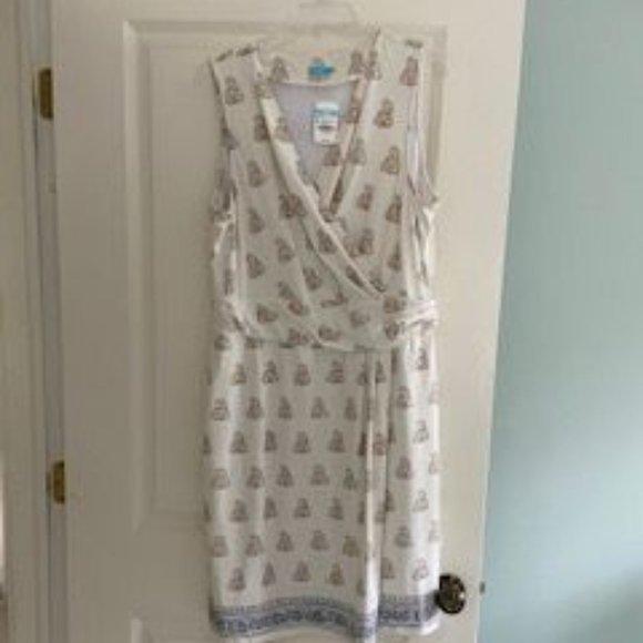 J. Mclaughlin Brea Faux Wrap Dress